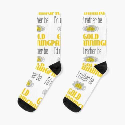 Ich würde lieber Goldwaschen sein Socken