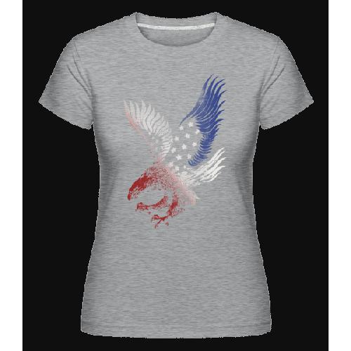 Amerikanischer Adler - Shirtinator Frauen T-Shirt