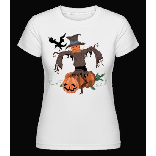 Kürbis Vogelscheuche - Shirtinator Frauen T-Shirt