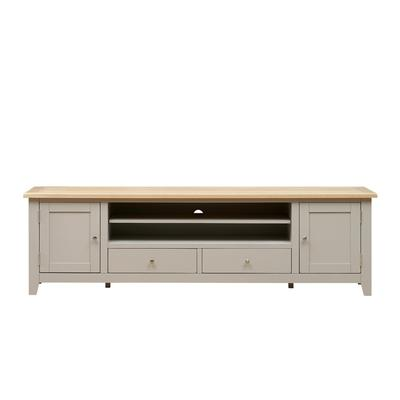Chester Stone Extra Large TV Stand - Up to ''99