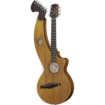 Timberline Guitars T20HGpc Harp Guitar