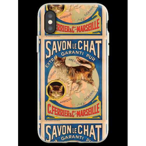 Savon Le Chat Die französische Seife der Marke Cat Flexible Hülle für iPhone XS