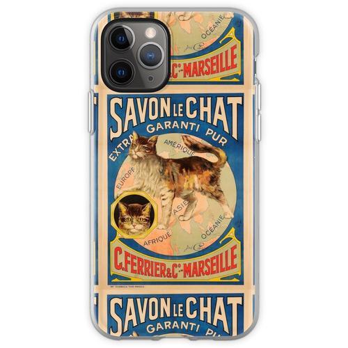 Savon Le Chat Die französische Seife der Marke Cat Flexible Hülle für iPhone 11 Pro
