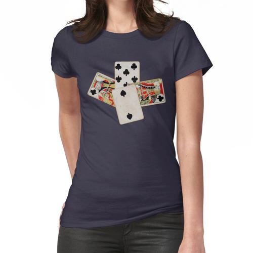 Spades Kartenspiel Hand Frauen T-Shirt