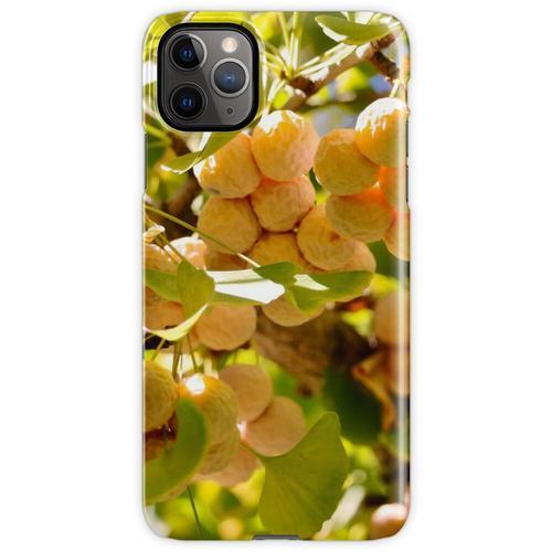 Ginkgobaum mit Obst iPhone 11 Pro Max Handyhülle