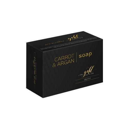 Eco Masters Seife zum Haut aufhellen - 2x100g Seife - Mit Karotte & Arganöl