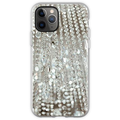 Kronleuchter aus Kristallen und Licht Flexible Hülle für iPhone 11 Pro