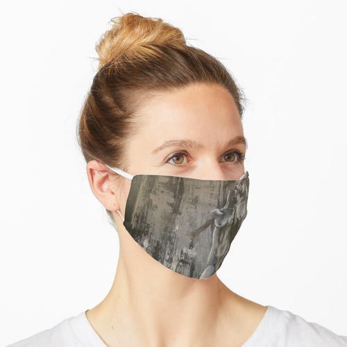 Alter Ego, Mischtechnik auf Leinwand Maske
