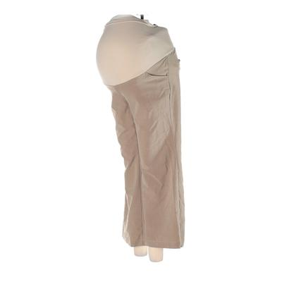 Motherhood Dress Pants - Low Rise: Tan Bottoms - Size Small Maternity