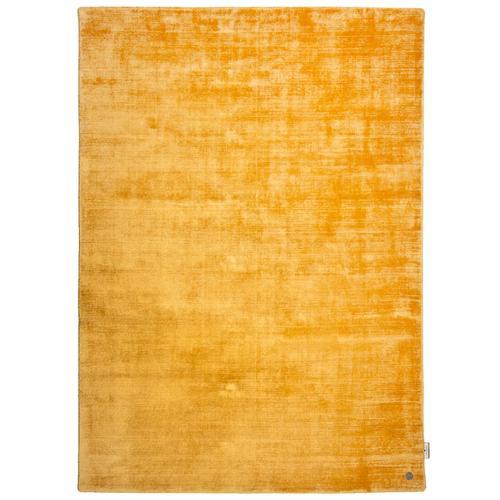 Handarbeitteppich Shine Uni Tom Tailor Gelb