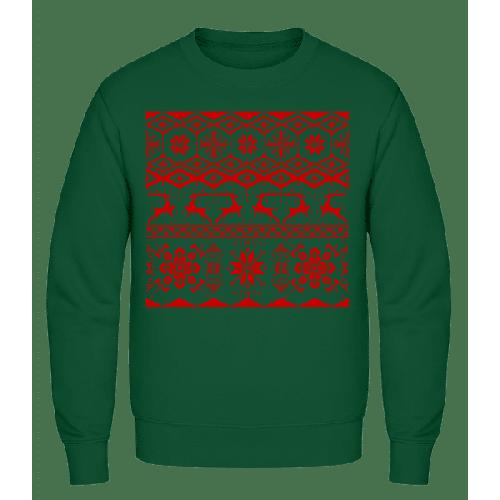 Weihnachtsmuster - Männer Pullover AWDis