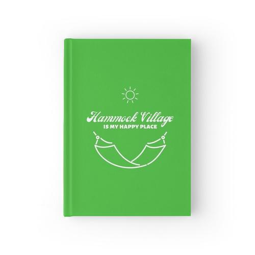 Hängemattendorf - Grün Notizbuch