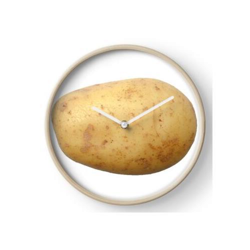 Kartoffel Uhr