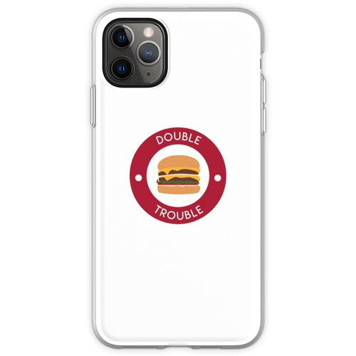 Doppelter doppelter Burger Flexible Hülle für iPhone 11 Pro Max