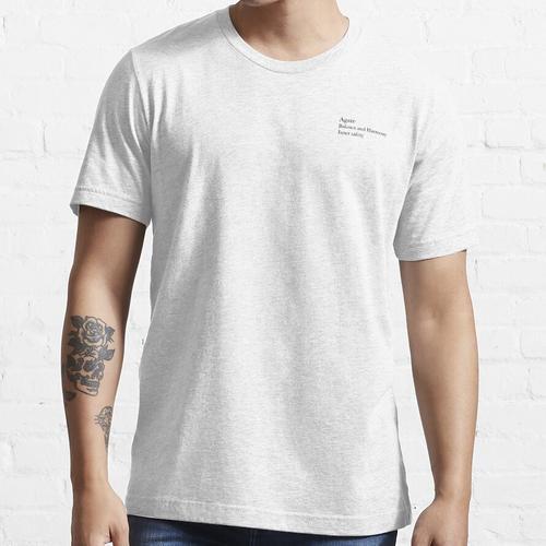Achatkristall Essential T-Shirt