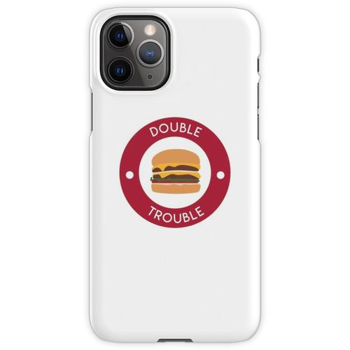 Doppelter doppelter Burger iPhone 11 Pro Handyhülle