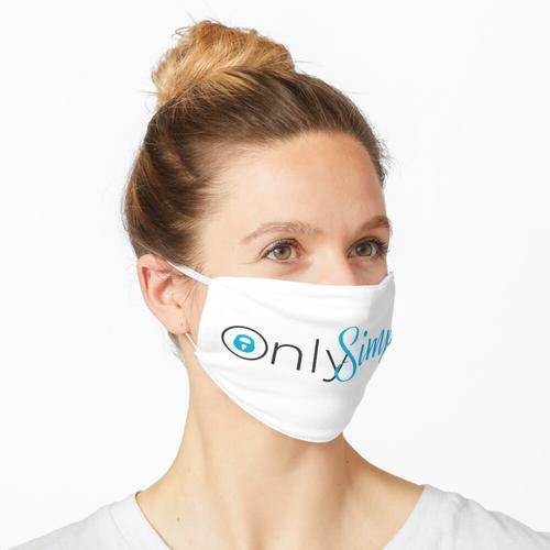 OnlySimps OnlyFans-Logo. Maske
