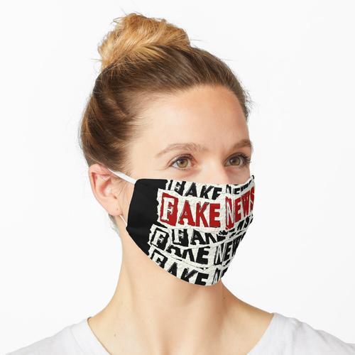 FAKE NEWS FAKE NEWS FAKE NEWS Maske