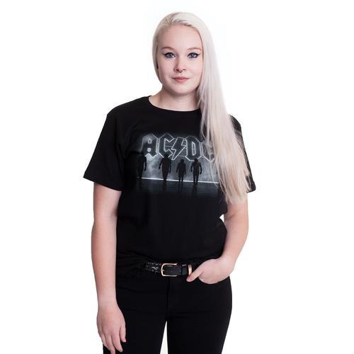 AC/DC - B&W Band Photo - - T-Shirts
