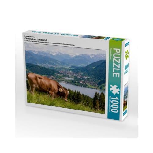 Oberallgäuer Landschaft Foto-Puzzle Bild von TomKli Puzzle