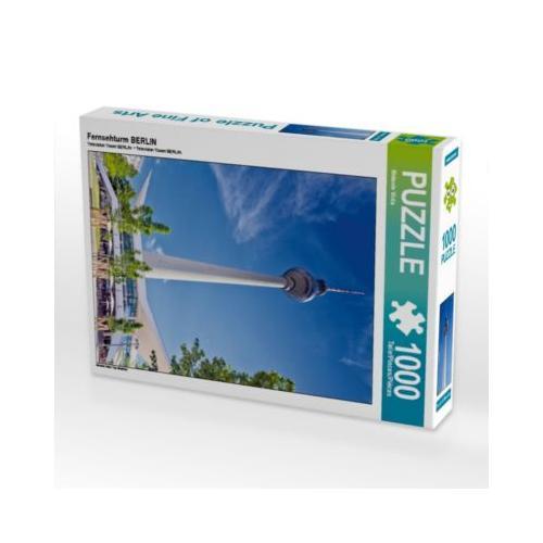 Fernsehturm BERLIN Foto-Puzzle Bild von Melanie Viola Puzzle