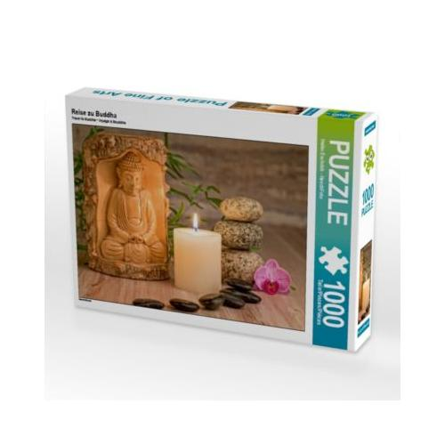 Reise zu Buddha Foto-Puzzle Bild von HeschFoto Puzzle