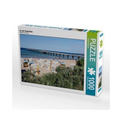 An der Seebrücke Foto-Puzzle Bild von Joachim Hasche Puzzle