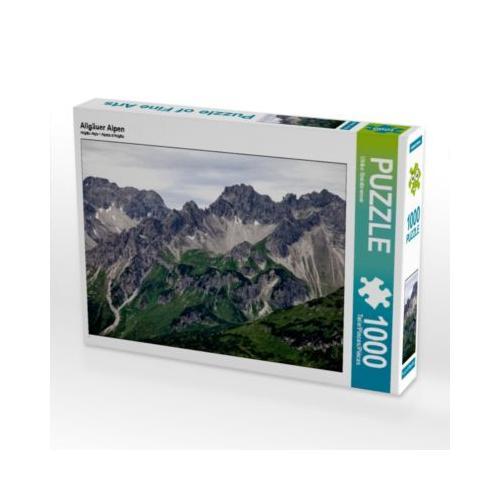 Allgäuer Alpen Foto-Puzzle Bild von Ulrike Steinbrenner Puzzle