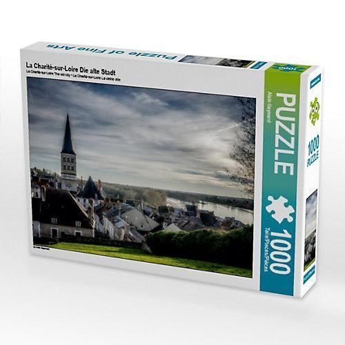 La Charité-sur-Loire Die alte Stadt Foto-Puzzle Bild von Alain Gaymard Puzzle