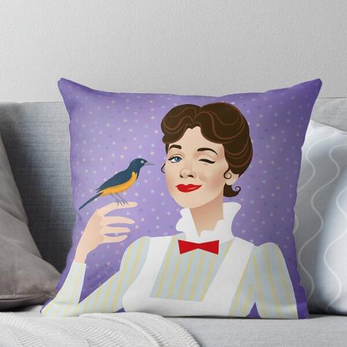Vögelchen Kissen