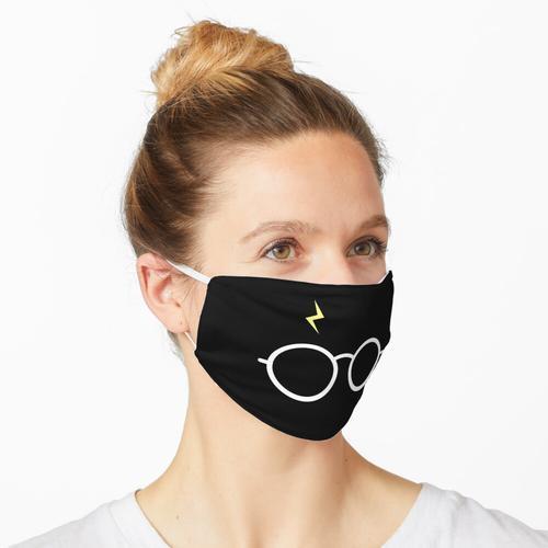 Gelbe Blitzbrille Maske
