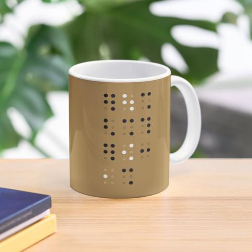 Braille #1 Mug
