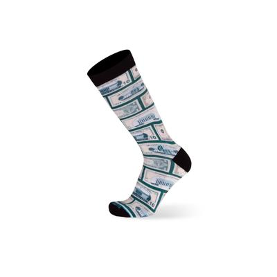 Men's Big & Tall The Success Socks by TallOrder in Green (Size 16-20)