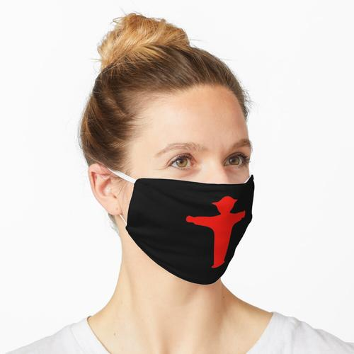 Ampelmann rot Maske