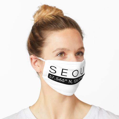 Seoul Koordinaten Maske
