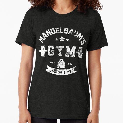 Mandelbaum! Mandelbaum! Mandelbaum! Tri-blend T-Shirt