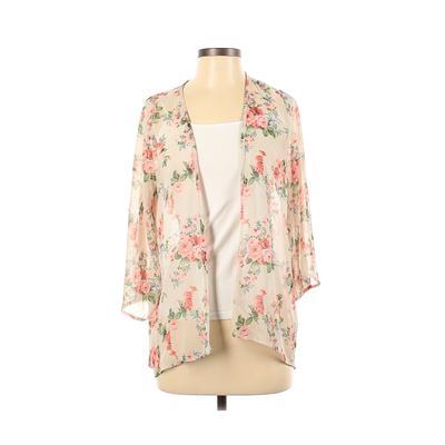 Lovely Day Kimono: Ivory Floral ...