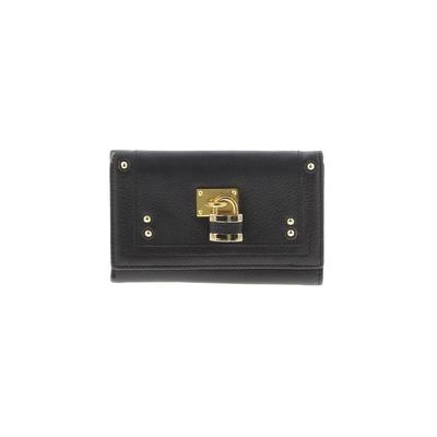 Miss Vera Pelle Leather Wallet: Brown Solid Bags