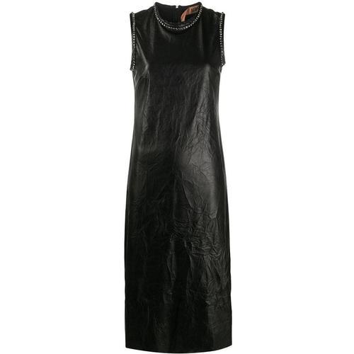 N°21 Kristallverziertes Kleid