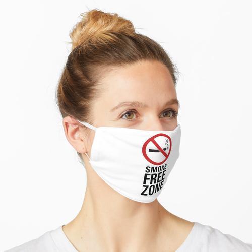 Rauchfreie Zone - Dunkel Maske