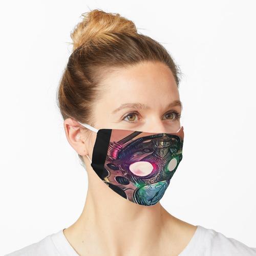 Industrielles Neon Maske