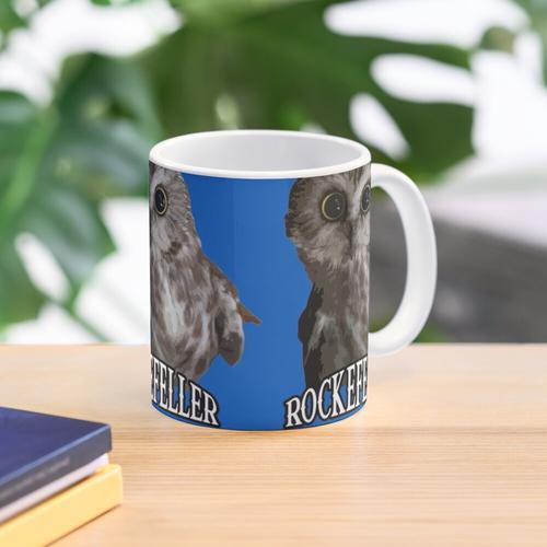 Rockefeller die Eule Tasse