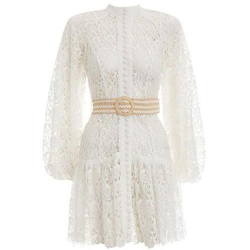 Zimmermann Kurzes Kleid mit Gürtel