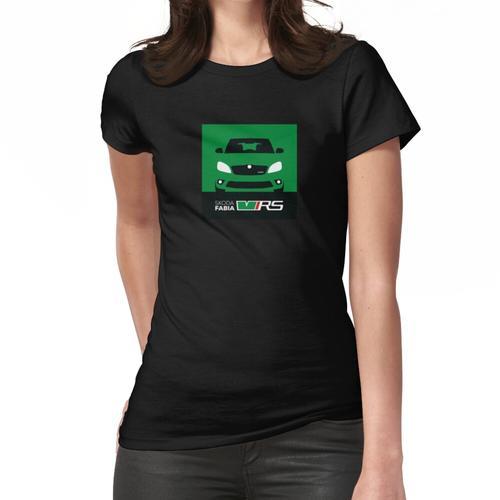MK2 Skoda Fabia VRS - Grün - KEINE NUMMERPLATTE Frauen T-Shirt