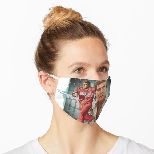 Eine bionische menschliche Figur! Maske