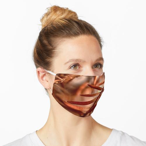 rostbraun Maske
