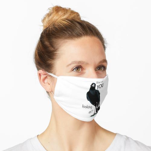 Elster Design 'Was schaust du dir an?' Maske