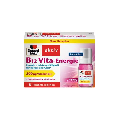 Doppelherz Gesundheit Energie & Leistungsfähigkeit B12 Vita-Energie Trinkfläschchen 30 Stk.
