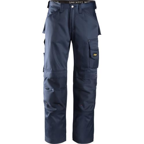 Snickers Workwear Arbeitshose DuraTwill, Gr. 48 - 56 blau Herren Arbeitshosen Arbeits- Berufsbekleidung