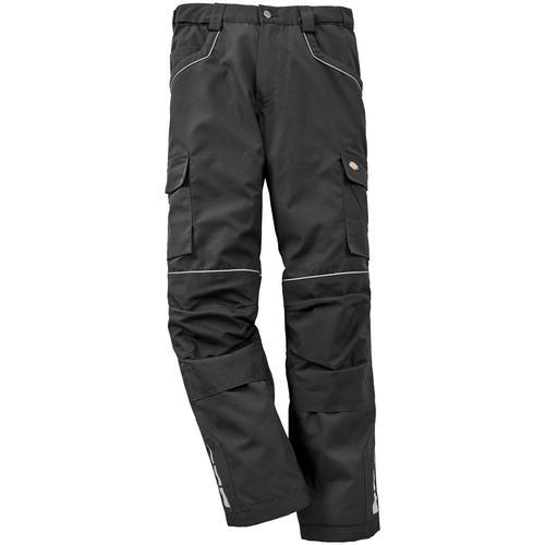 Dickies Arbeitshose Industry Pro, mit Kniepolstertaschen schwarz Herren Arbeitshosen Arbeits- Berufsbekleidung